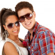 Beautiful young couple — Stock Photo #5802392