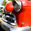 Old style red car — Stockfoto