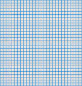 Details of a grid or matrix of blue horizontal and vertical lines, often us — Stock Vector