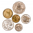 Australian coins - Stock Photo
