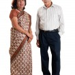 Senior Indian couple — Stock Photo