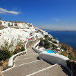 Santorini island Grekland — Stockfoto