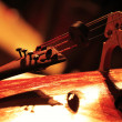 Stock Photo: Detail of a classical cello