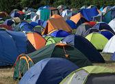 Kamp siteleri — Stok fotoğraf