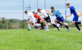 Football training — Stock Photo