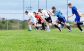 Football training — Stock Photo