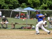 Little league batter — Stock Photo
