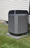 Buiten airconditioning unit — Stockfoto
