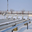 Refinery in winter scenery — Stock Photo #6477223