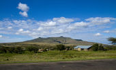 Mount Longonot in Kenya — Stock Photo