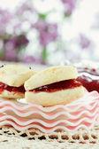 Cranberry Scones — Stock Photo