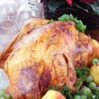 Holiday Turkey Dinner — Stok fotoğraf