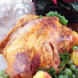 Stock Photo: Holiday Turkey Dinner