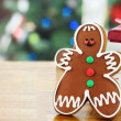 Gingerbread Man Cookie — Stock Photo #6249210