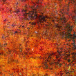 Royalty-Free Stock Photo: Abstract red grunge background