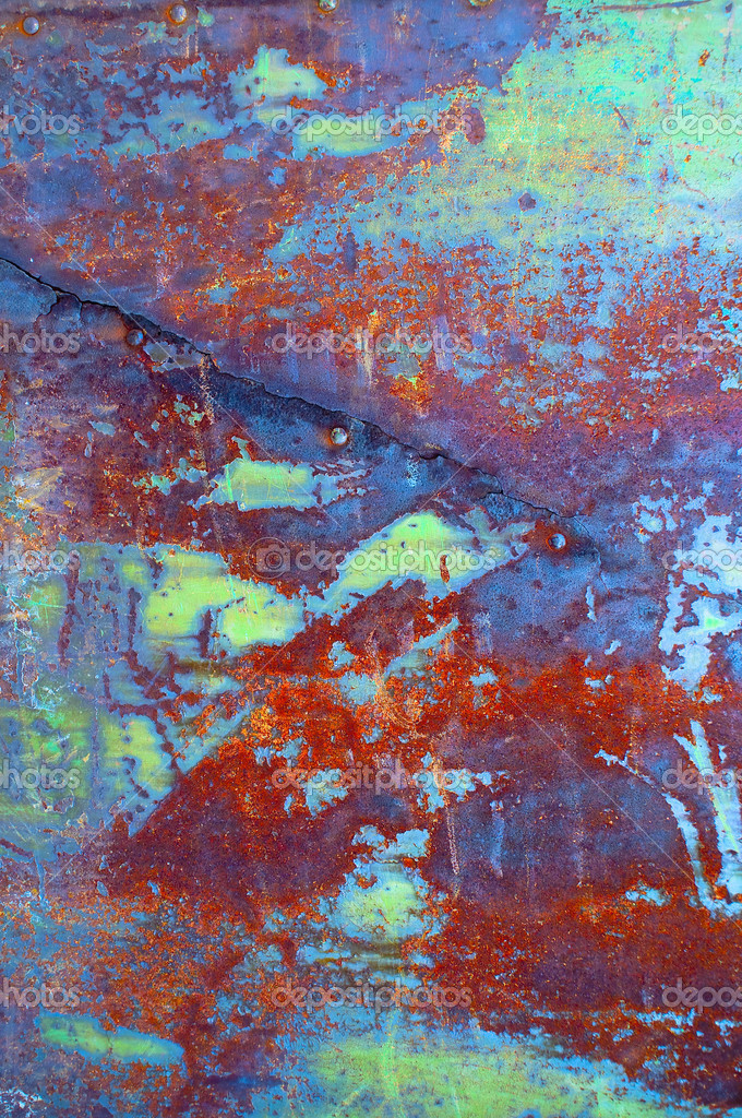 Abstract grunge background representing colors and rust — Stock Photo #6111772