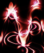 Abstract black and red background — Stock Photo