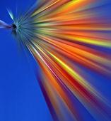 Abstrakte blauen hintergrund — Stockfoto