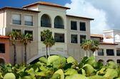 Luxury buildings in the tropics — Stock Photo