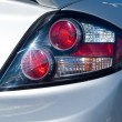 Close Up of a New Car Taillight — Stock Photo