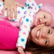 Foto Stock: Happy Mother Child