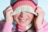 冬の女の子 — ストック写真