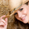 Country Girl — Stock Photo #6501336