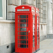 Royalty-Free Stock Photo: British telephone booths