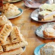 Table of food shallow Dof — Stock Photo