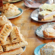 Table of food shallow Dof — Stock Photo #5958002