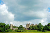Battle Abbey england — Stockfoto