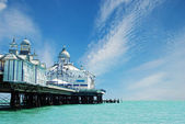 Eastbourne pier England — Stock Photo