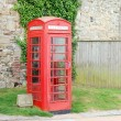 English telephone booth — Stock Photo