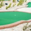 Miniature golf - Stock Photo
