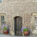 Old shop doorway england — Stock Photo