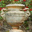 Stock Photo: Old urn vase