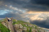 Hastings east hill lift England — Stock Photo
