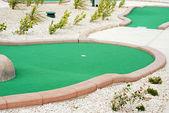 Miniature golf — Stockfoto