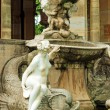 Stock Photo: Fountain and statue hever castle garden