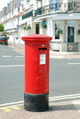 British mail box — Stock Photo