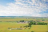 英国乡下的一个农场 — 图库照片