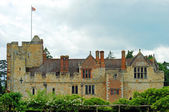 Hever castle side view — Stock Photo