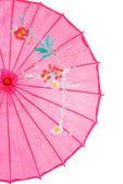 Closeup pink asian umbrella — Stock Photo