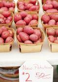 Ziemniaki czerwone — Zdjęcie stockowe