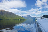 Fiord Boat Tour — Stock Photo