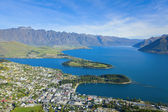 Queenstown Overlook — Stock Photo