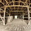 Stock Photo: Barn Interior