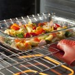 Roasting Vegetables — Stock Photo
