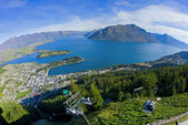 Above Queenstown — Stock Photo