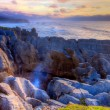 Stock Photo: Punakaiki Pancake Rocks